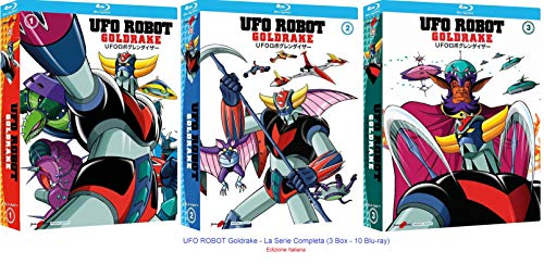 UFO ROBOT Goldrake - La Serie Completa (3 Box - 10 Blu-ray) Ed. Italiana