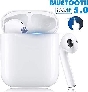 [2020年のBluetooth 5.0タッチタイプの最新バージョン]ワイヤレスヘッドフォンTWS高品質自動ペアリングApple Airpods Pro Android / iPhoneと互換性のある内蔵マイク左右分離タイプ、高速充電ケース付き