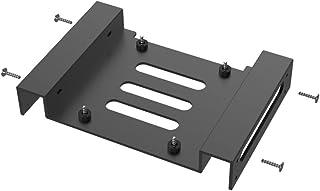 GLOTRENDS PC用 3.5 5.25インチ 変換 マウンタ アルミニウム HDD 交換ブラケット