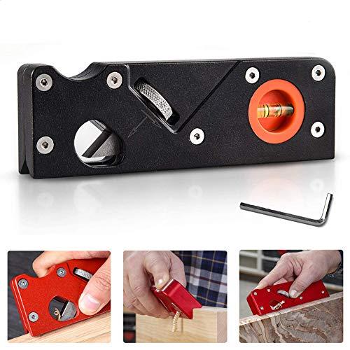Cepillo angular de carpintería para trabajos de madera, para cortar bordes y biselar rápidamente, herramienta de bricolaje para carpintero