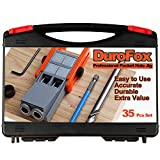 DuroFox Pocket Hole Jig with Pocket Hole Screw kit Jig Drill Guide Jig Plug