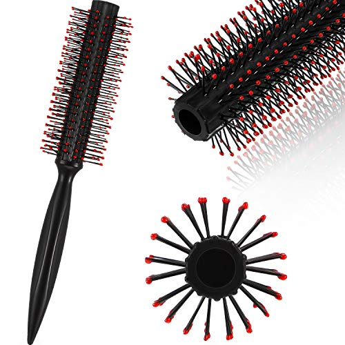 Tolle Roller Rund Herren Haarbürste Tolle Kamm Rund Haar Styling Bürst für Föhnen von Haaren Styling Werkzeug (Stil B, 1 Packung)