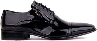 Fosco - Siyah Rugan Neolit Erkek Klasik Ayakkabı