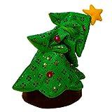 "Kurt Adler 18"" Battery-Operated Singing and Dancing Plush Christmas Tree"