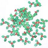 LUCOG Confettis de table de Noël paillettes de mariage paillettes sans embellissement Noel Arts Craft pour...