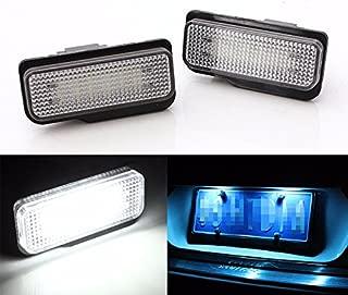 2PCS 18LED License Plate Light For 2001-2011 4 Doors Mercedes/Benz C-Class S203 E-Class S211/W211 00-07 SLK R171 CLS C219