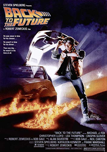 Poster Back to The Future I Affiche cinéma Wall Art