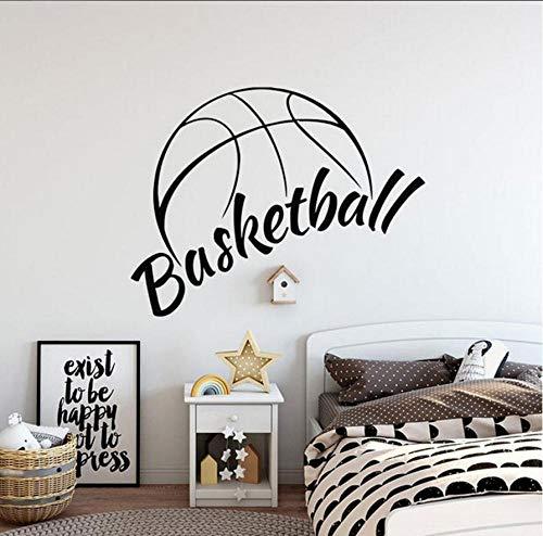 Decalcomanie da Muro per mand Vinile Decorazioni per la casa Sport per interni Adesivo da parete Ragazzo Camera Bambini Camera da letto Murales Poster da parete rimovibile 73x57cm
