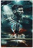 Poster Und Gedruckte Argentinien Tapete Lionel Messi für