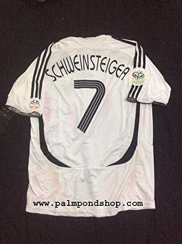 ADI Bastian Schweinsteiger Germany Retro Soccer Jersey Trikot 2006 Size XL