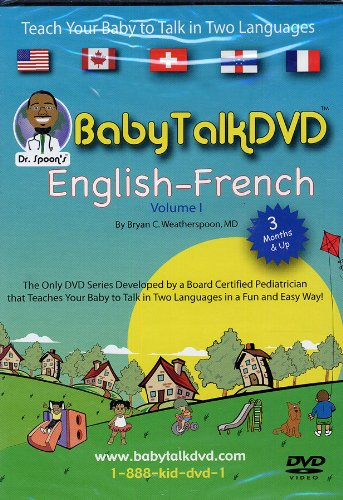 Dr. Spoon's Baby Talk DVD English - French Volume 1