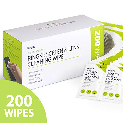 Ringke Screen and Lens Cleaning Wipes