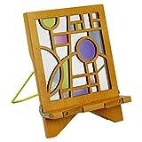 Architecture Bookholder Orbit - Buchständer - Tablethalter aus Holz: Leseständer für Bücher, E-Reader und Tablets