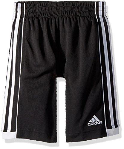adidas Boys' Big Active Sports Athletic Shorts, Speed 18 Black, Large