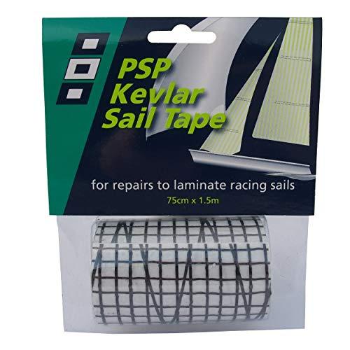 PSP Kevlar - Mylar Laminat Reparatur Tape - Schwarz für Foliensegel