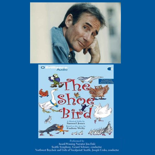 Jim Dale Talks About The Shoe Bird audiobook cover art
