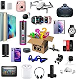 Mystery Box Lucky Mysteries Boxes Lucky Boxes Mystery Boxes Electronic , Lucky Boxes,Mysterious Random Products,There is A Chance to Open: Such As Drones, Smart Watches, Gamepads, Digital Cameras and More,Anything Possible, Give Yourself A Surprise, Or As A Gift to Others