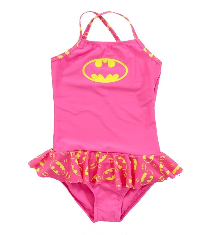 DC Comics 女の子 バットマンスカート付き1つのピース幼児女の子の水着