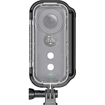 PULUZ Insta360 ONE X 防水ケース 30m 防水 水中撮影キット 水中カメラハウジング カメラダイビングケース 水中撮影 バックル&ベーシックマウント&ネジ付き