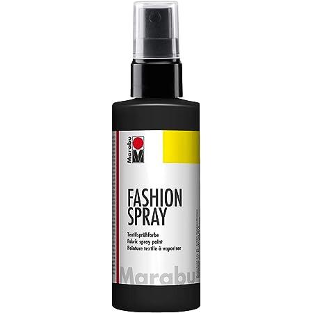 Marabu - Pintura Textil con pulverizador (100 ml), Color Gris ...