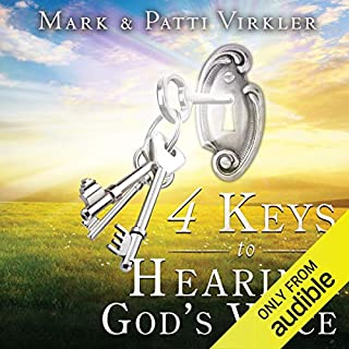 4 Keys to Hearing God's Voice audiobook cover art