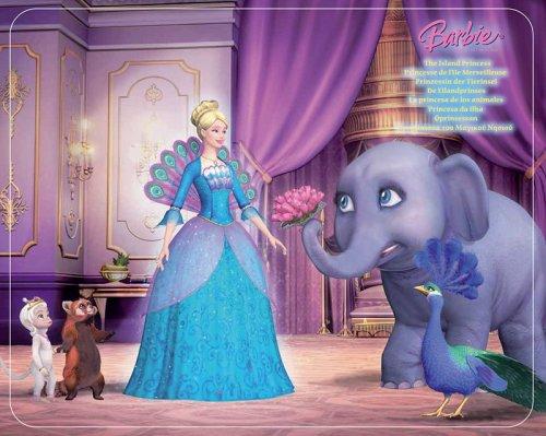 Mattel - Barbie Endlos Puzzles, 2 in 1