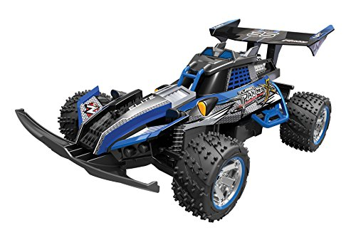 Toy State Nikko Turbo Panther X2 Blue 1:10 Scale Radio Control (FFP) Vehicle