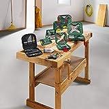 Bosch 2607019331 Titanium Drill and Screwdriver Set (Green and Black, 103-Piece)