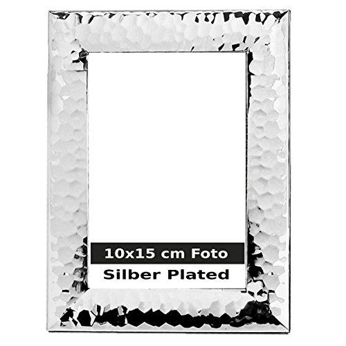 silberkanne Sylt - Cornice portafoto, placcata Argento, 10 x 15 cm