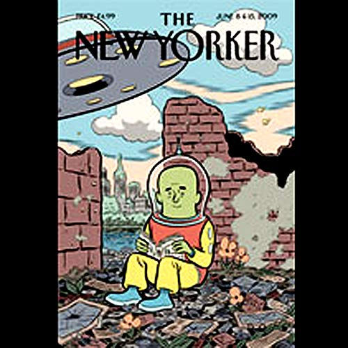 The New Yorker, June 8th & 15th, 2009 cover art