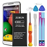 Droid Turbo 2 Battery Upgraded ZURUN 3800mAh Li-Polymer FB55 Battery SNN5958A Replacement for Motorola Droid Turbo 2 Moto X Force XT1585 XT1581 with Screwdriver Tool Kit