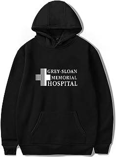 UBUB Gray's Anatomy huvtröja unisex pullover hoody sweatshirt jacka rock print tumblr greys anatomy gåvor mode casual hooded