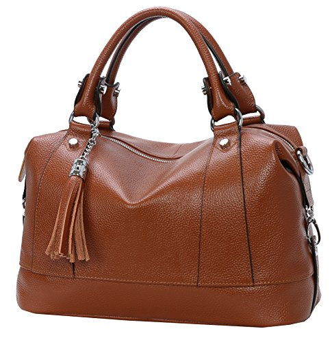 """Size information:(L)13.65in"""" * (H) 7.8in"""" * (W) 5.07in"""" and the weight is less than 1.69 pounds. Long Shoulder Strap: 51.09(the shoulder strap can be adjusted to the longest 51.09"""" in). Structure: The bag has two separated pockets inside,and a zipper..."""