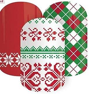 Jamberry Nail Wraps – Christmas Socks (Half Sheet)