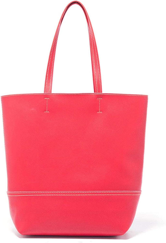 Women Handbags, Fashion Designed Womens Handbags Shoulder Bag Messenger Bag Leather Tote Bag Ladies Handbag Purse,27  15  34cm,red