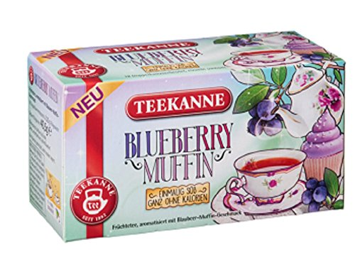 Teekanne - Früchtetee Blueberry Muffin - 18Bt/40,5g