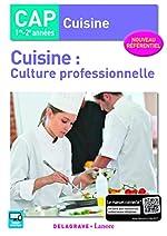 Cuisine - Culture professionnelle CAP Cuisine (2017) - Pochette élève de THIERRY DÉCHAMP