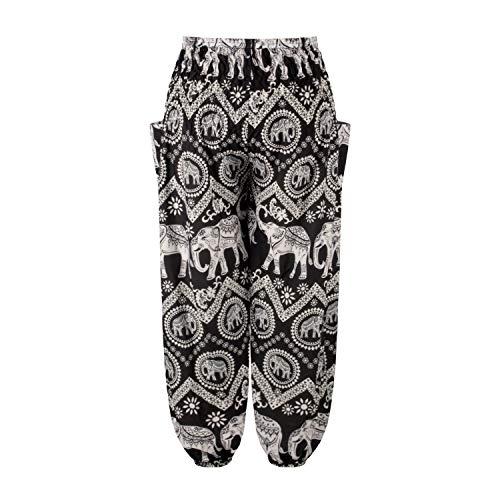dilake Pantalones de Yoga Boho para Mujer, Pantalones de harén, Pantalones de Playa...