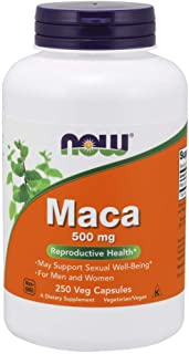 NOW Supplements, Maca (Lepidium meyenii) 500 mg, For Men and Women, Reproductive Health*,..