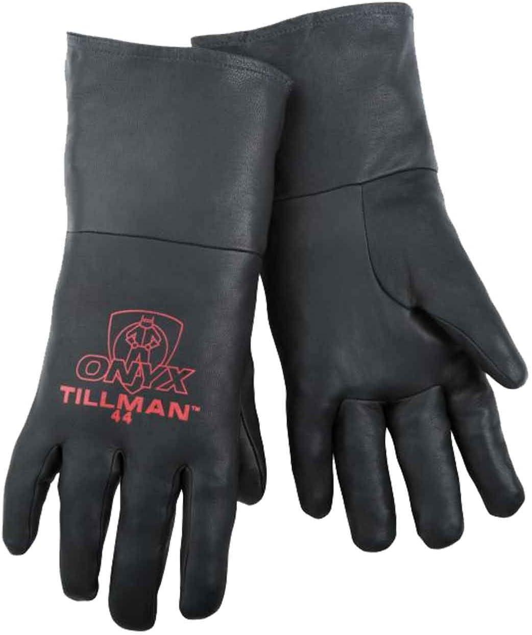 Tillman 44-L Large Top Grain supreme TIG Kidskin Black Dealing full price reduction Welding Gloves