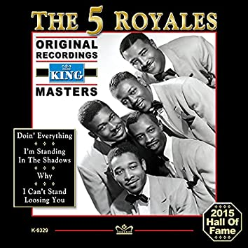 """The """"5"""" Royales - Extended Play - Original Recordings"""