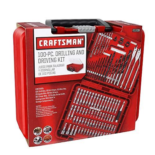 Craftsman 100 piezas juego de taladro y brocas