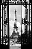 1art1 Paris - Blicke Auf Den Eiffelturm Durch Jugendstil