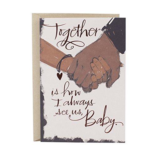 Hallmark Mahogany Love Card or Anniversary Card (Never Stop)