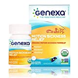 Best Medicine For Motion Sickness - Genexa Motion Sickness Relief - 60 Chewable Tablets Review