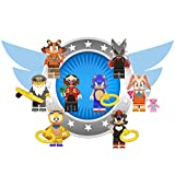 New Sonic Toy Action Figures Set - Deluxe Action Heroes from Sonic - Gift for Kids