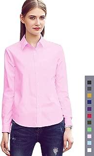 Best womens pink button down shirt Reviews