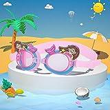 Weikeya Children Swimming Goggles, Waterproof Swim Goggles Silicone...