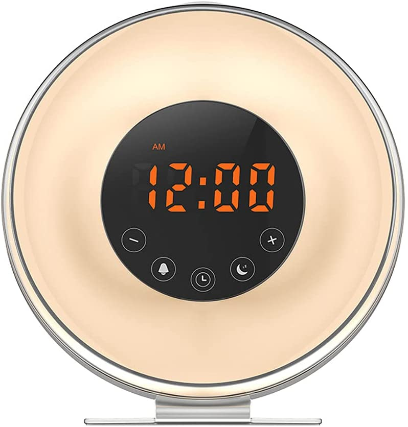Limited price FDSZ Touch Wake-Up Light Alarm Clock an Sunrise Multifunctional Credence