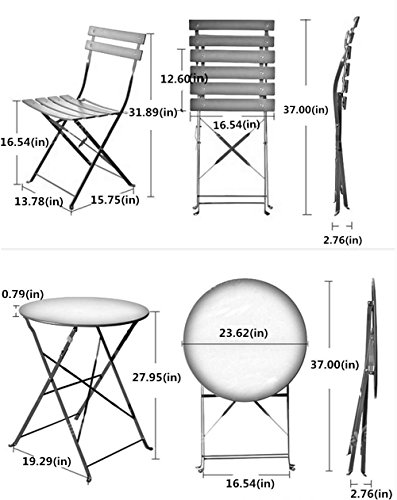 This little bistro set is one of our favorite balcony furniture ideas